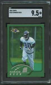 2002 TOPPS ROOKIE ED REED RC SGC 9.5