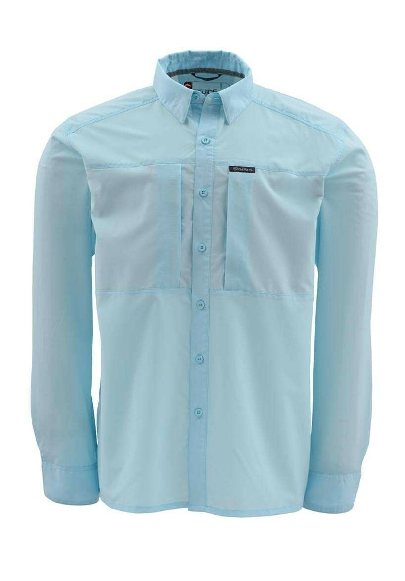 Simms ULTRALIGHT Long Sleeve Shirt  Ocean Breeze NEW  Closeout Größe XL