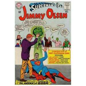 Superman-039-s-Pal-Jimmy-Olsen-1954-series-87-in-F-minus-cond-DC-comics-ug