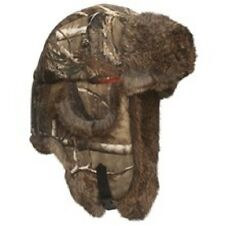 TREE LEAF NEW CAMO TRAPPER HAT FAUX FUR WARM LINED THERMAL JUNGLE FOREST STYLE