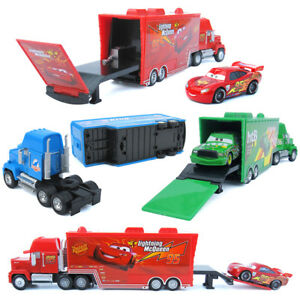 Cars Toys Mcqueen Cruz Ramirez Mack Trucks /& Racer 1:55 Loose Die Cast Autos New