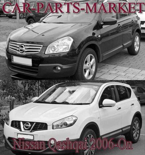 Côté Droit Convexe Aile Miroir De Verre Pour Nissan Qashqai 2006-2013 Chauffé Plaque