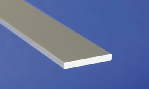 profil plat Aluminium anodisé plat forme section bar Divers Tailles 1 m