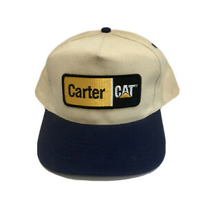 Carter Cat Caterpillar Construct Roanoke Salem Virginia 540 Patch Logo Vintage