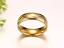 Coppia-Fedi-Fede-Fedine-Anello-Anelli-Oro-Fidanzamento-Nuziali-Cristallo-Occhio miniatura 8