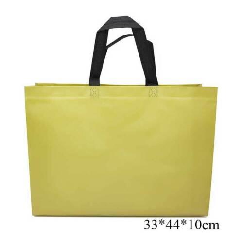 Non-woven Multicolor Shopping Bag Reusable Pouch Travel Storage Handbag Tote NEW
