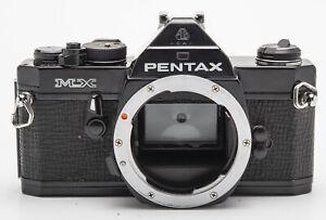 Pentax-MX-Gehaeuse-Body-schwarz-Spiegelreflexkamera-SLR-Kamera