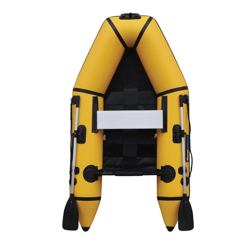 Boatworld 230SL 2.3M Inflatable SIB Boat RIB Dinghy C W Oars Alloy Seat Pump