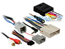 NEW CAR STEREO RADIO REPLACEMENT CAN INTERFACE WITH NAV OUTPUTS & WIRE HARNESS