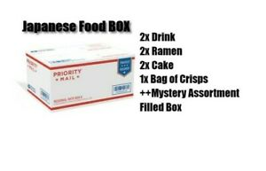 Japanese-Dagashi-Snack-Box-MYSTERY-Loot-Crate-Cake-Crisps-Ramen-Drink-Fast-Ship