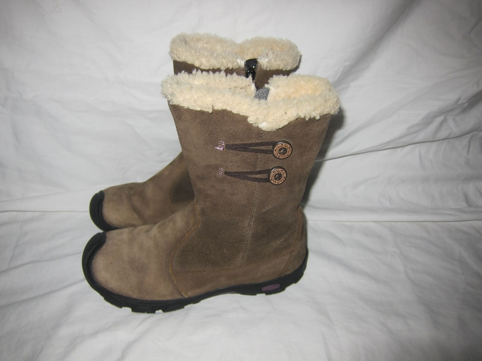 n ° 1 online Awesome  Keen donna lined lined lined winter stivali, Dimensione 7, Good Shape side zipper  una marca di lusso
