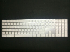 Apple-Magic-Keyboard-2-mit-Ziffernblock-Deutsche-German-Silber-Weiss