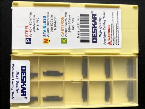 DESKAR 10pc MGGN150-JM LF6018 cutting blad FOR steel//stainless steel//cast iro