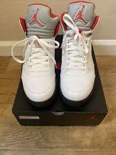 Nike Air Jordan 5 Retro Fire Red 2013 Size 9