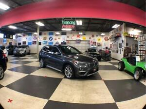 2017 BMW X1 XDrive28i XDRIVE SPORT PKG AUT0 AWD AUT0 LEATHER PANO/ROOF CAMERA