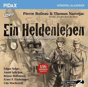 Ein-Heldenleben-Kriminalhoerspiel-Pidax-Klassiker-mp3-CD-NEU-OVP