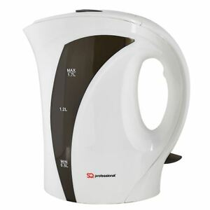 Grey-Portable-Electric-Kettle-1-7-Litre-2200W-Cordless-Jug-Fast-Boil-Filter