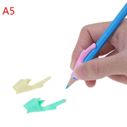 3PCS//set children pencil holder pen writing aid grip posture correction tool LP