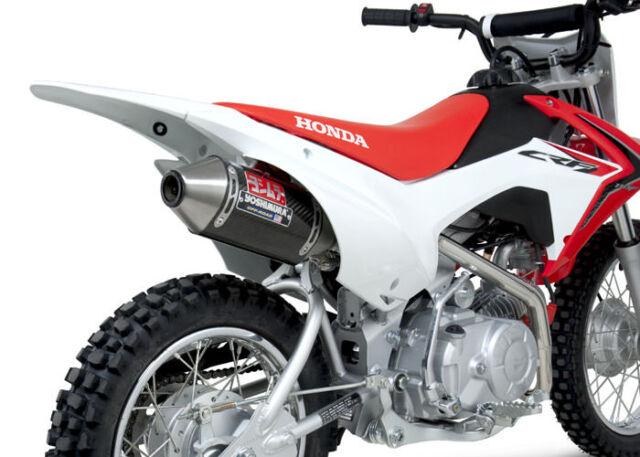 Honda CRF110F Yoshimura RS-2 Completo Escape Sistema Carbono Fibra 221100B250