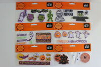 6 Packs Halloween Scrapbook Patches Peel'n'stick Acid Free Polyester Cotton Nip