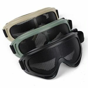 Anti-Fog Safety Goggles SRC Tactical Protected Airsoft Safety Goggles Black P-41