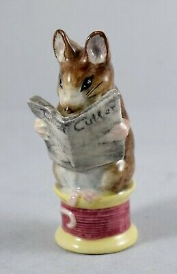 Aromatic Flavor 1973-1974 Just Beswick Beatrix Potter Tailor Of Gloucester Bp3a