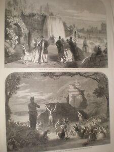 Dublin-International-Exhibition-cascade-in-garden-amp-Pan-at-Adelphi-1865-prints