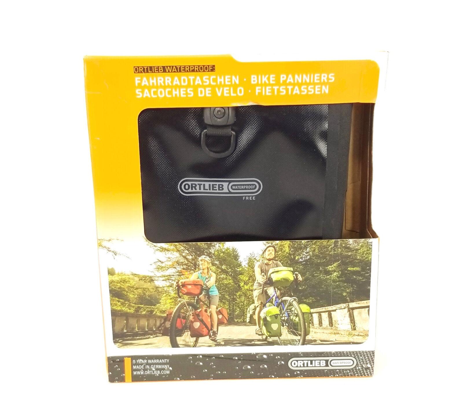 Ortlieb Sport-Roller Libre Bicicleta Alforjas, Par, Negro