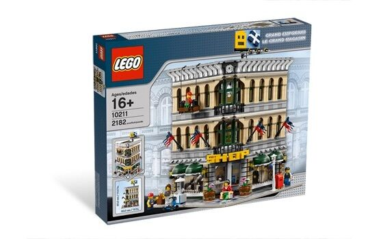 Lego 10211 grand emporium creator, Modular Menta Marca Nueva, Sellada Envío Gratis