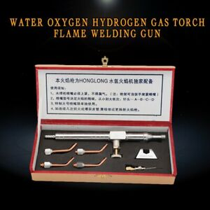 HHO Gas Torch Set,Torch Flame Gun with 4 Copper Nozzles