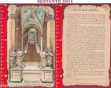 A86 SANTINO HOLY CARD SCALA SANCTA SANCTORUM DE URBE