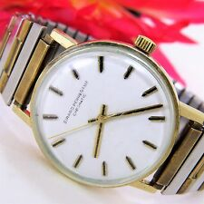 Vintage Girard Perregaux Gyromatic Mens Watch 10k Gold Filled
