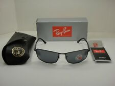 50acf11acf6 Sunglasses Ray-Ban Rb3498 006 81 Matte Black Polarized Caliber 64