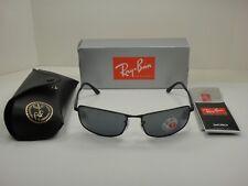 801c06c3f5 Sunglasses Ray-Ban Rb3498 006 81 Matte Black Polarized Caliber 64
