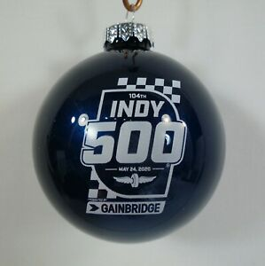 Christmas Events In Indianapolis 2020 2020 Indianapolis 500 104TH Running Event Logo Christmas Bulb