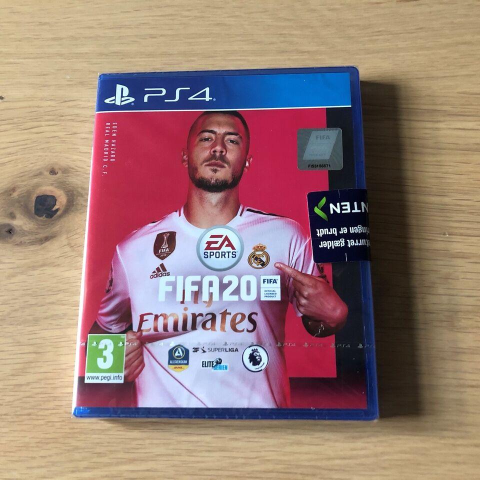 (SOLGT) Fifa 20, PS4, sport
