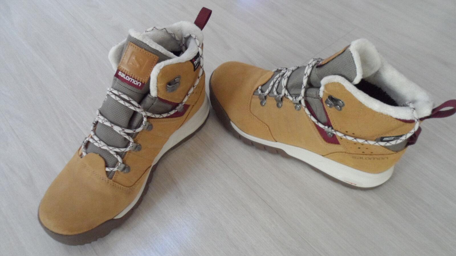 NEW  Salomon UTILITY TS CSWP Winter Hiking Stiefel. Stiefel. Stiefel. Waterproof. Sz 9 Retail  150 9bcaf2