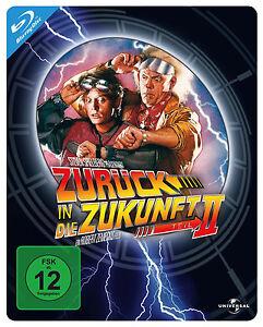 Blu-ray-ZURUCK-IN-DIE-ZUKUNFT-2-STEELBOOK-NEU-OVP