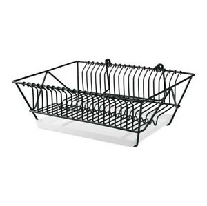 Ikea dish drainer with removable tray hang or stand drying rack ...