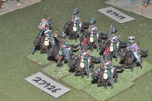 25mm Napoléonien / Français - Chasseur A Cheval 8 Figures Cav (27926)
