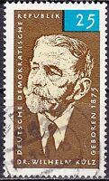 DDR Mi.-Nr. 1121 gestempelt 25 Pf. 90. Geburtstag von Wilhelm Külz