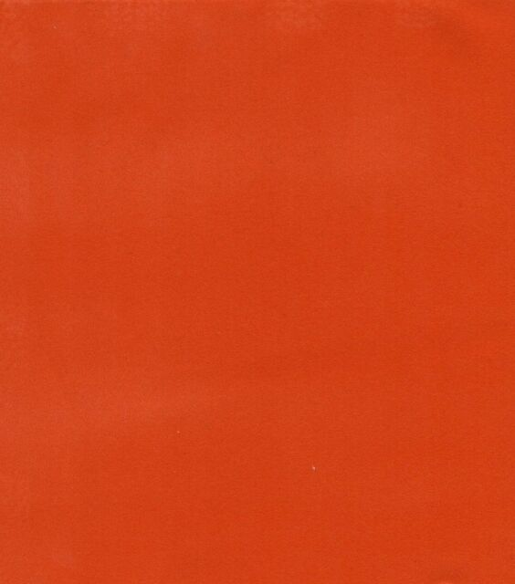 Velvet Flocking Waterproof Felt With PVC Backing Tangerine upholstery Fabric 55