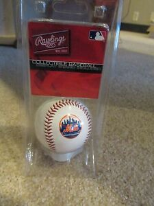 Rawlings-MLB-New-York-Mets-baseball-w-Free-shipping