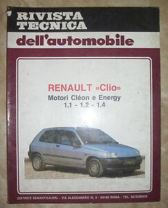 tecnica dell automobile  RIVISTA TECNICA DELL'AUTOMOBILE - N.46 RENAULT CLIO (BP) | eBay