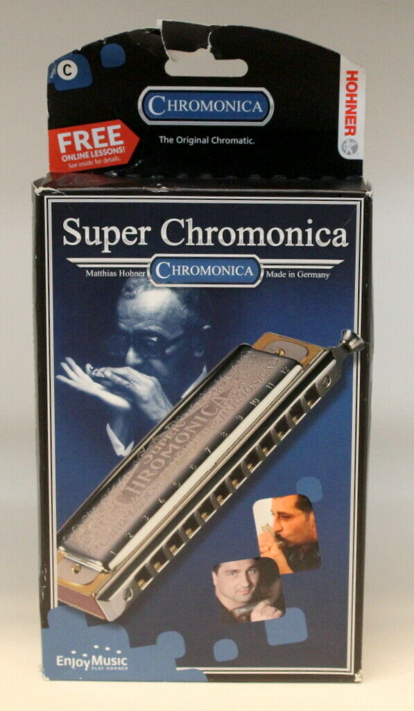 Hohner 270 48 12BX-C Super Chromonica Harmonica in the Key Of C German Made