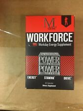 M-drive Workforce Workday Energy Supplement 45 Capsules 2020