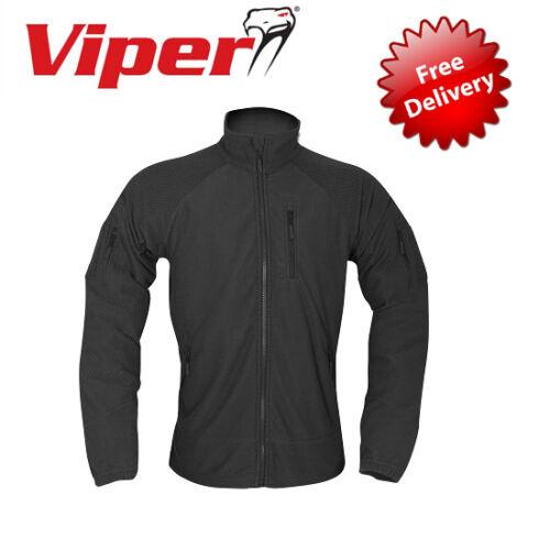 Viper Tactical Grid Fleece Jacket Zipped Military Outdoor VJKTFL