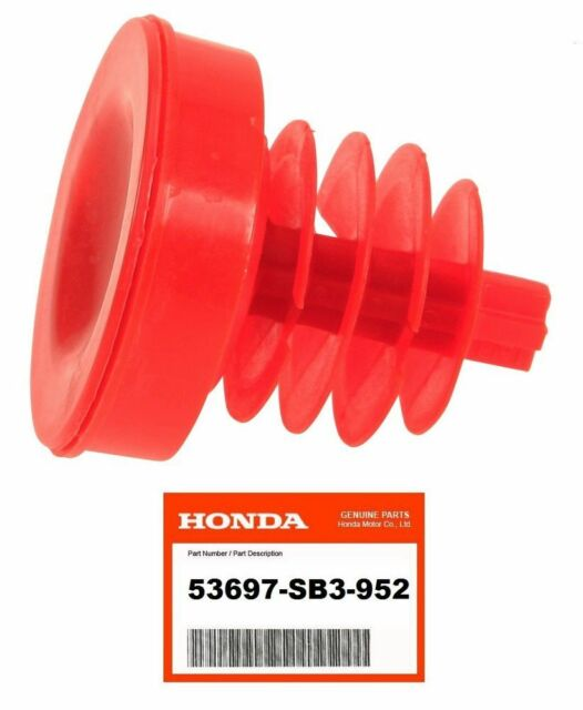 Power Steering Pump Reservoir Cap Red Fits For Honda