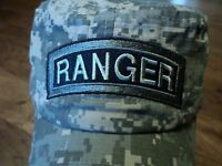 U.s Army Ranger Hat Digital Camouflage U.s Military Style Ball Cap