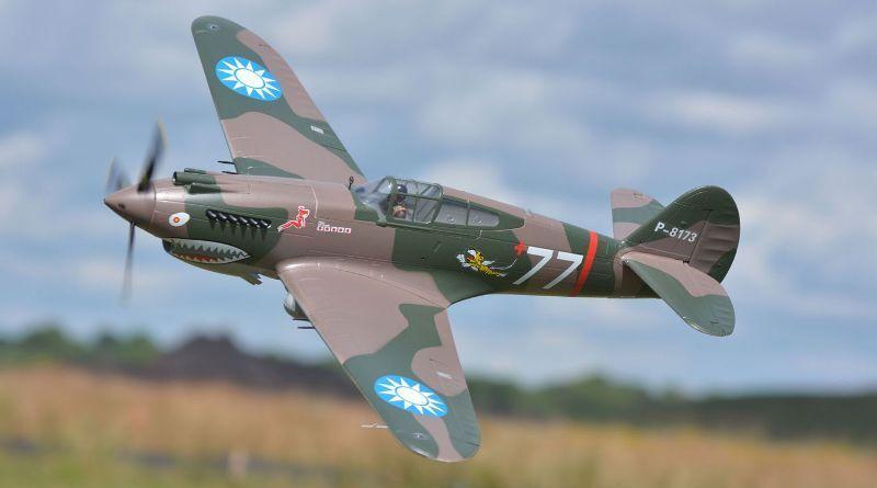 P-40B, Plug N Play, Wingspan  55.1 in (1400mm) Brushless RC Airplane
